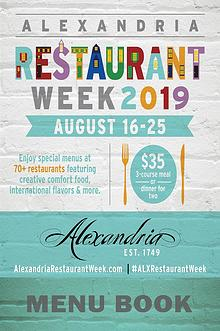 2019 Summer Restaurant Week