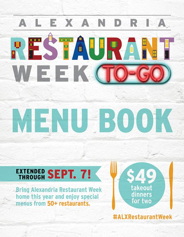 Alexandria Restaurant Week To-GoAlexandria Restaur August 21-30, 2020