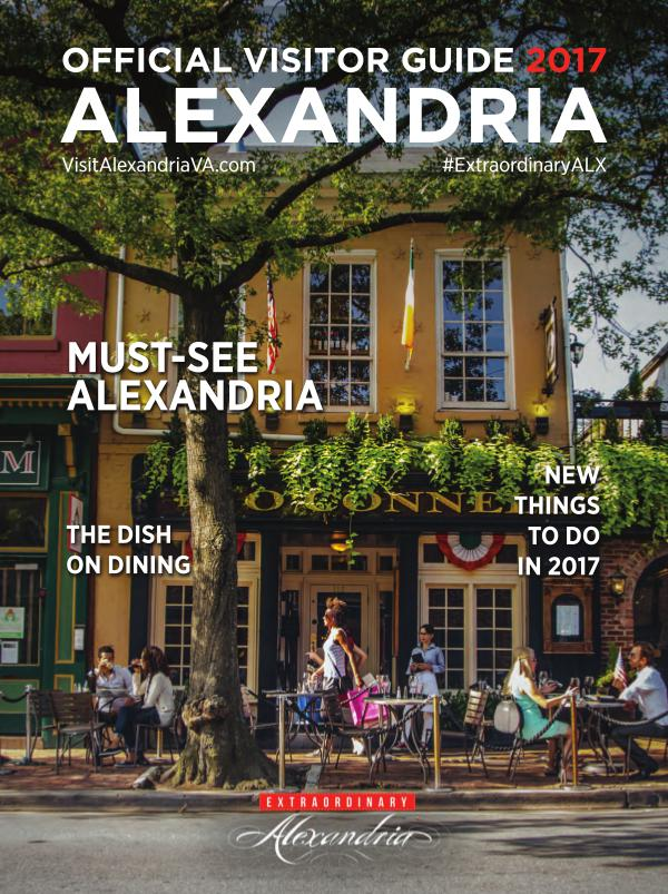 2017 Alexandria Visitor Guide 1