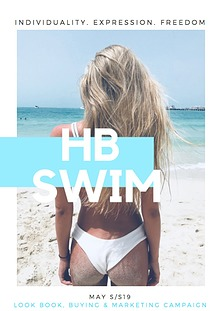 HB SWIM LOOKBOOK, MARKETING AND BUYING CAMPAIGN