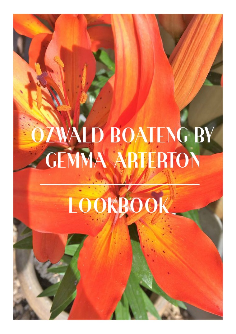 Ozwald Boateng by Gemma Arterton LookBook Look Book