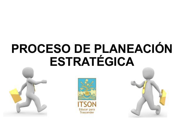 Proceso de Planeación Estratégica OA PLANEACIÓN ESTRATÉGICA