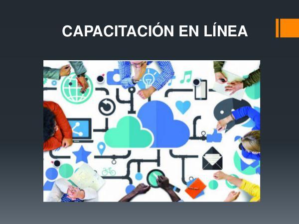 Capacitación en línea capacitacion en linea