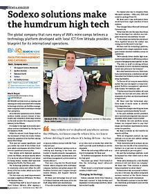 BN Western Australia:  'Sodexo solutions make the humdrum high tech'