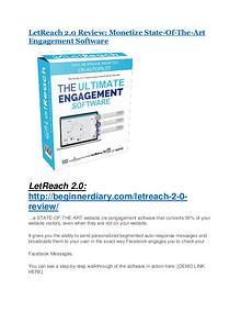 LetReach 2.0 REVIEW & LetReach 2.0 (SECRET) Bonuses