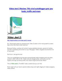 Video Jeet 2 Review demo - $22,700 bonus