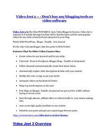 Video Jeet 2 Review demo - $22,700 bonus