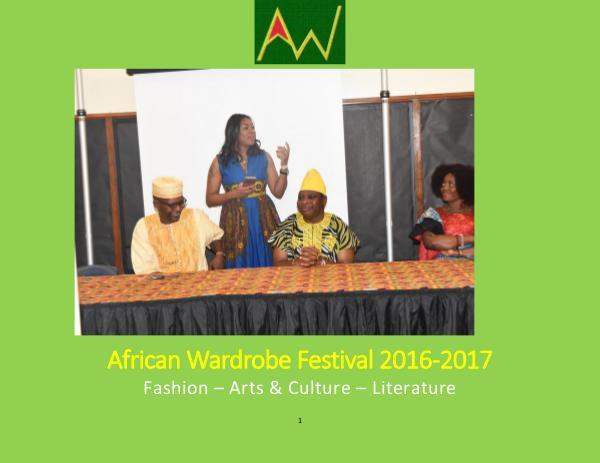 African Wardrobe Festival 2016-2017 African Wardrobe Festival 2016-2017