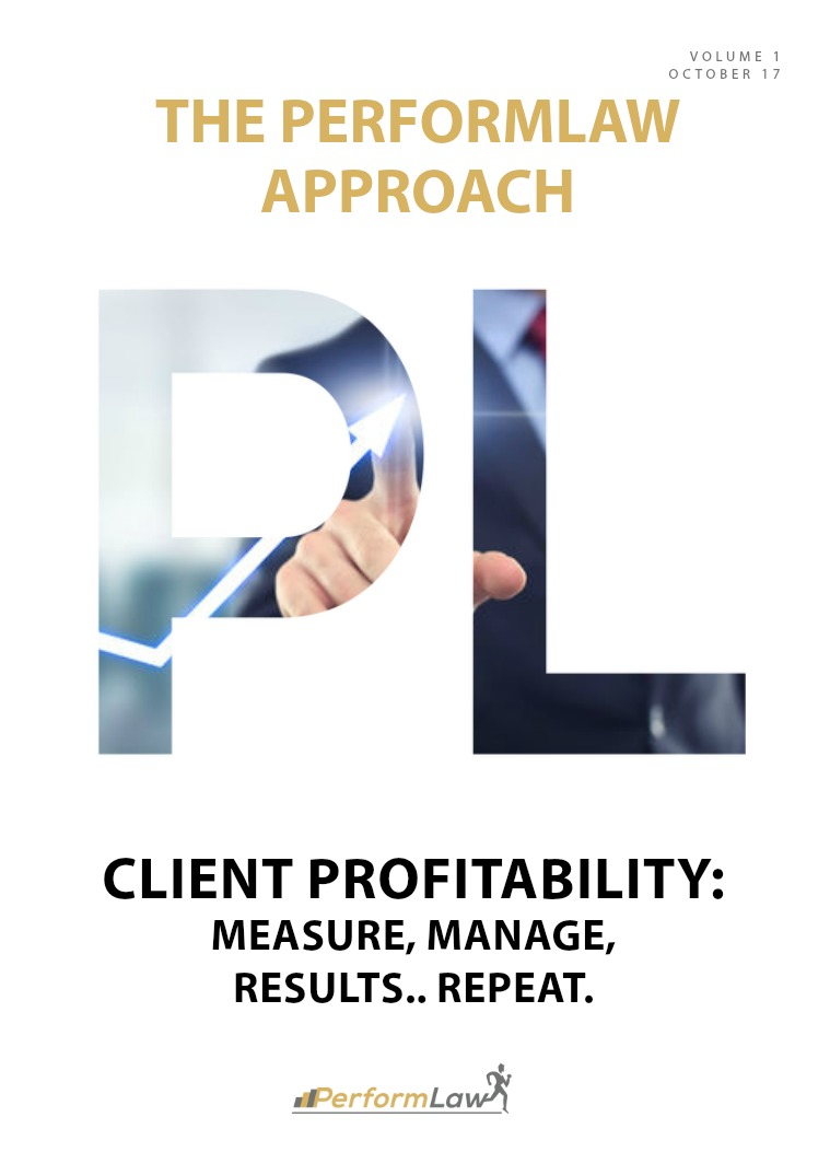 The PerformLaw Approach Client Profitability
