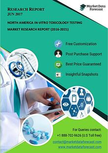 North America In-vitro Toxicology Testing Market Reports