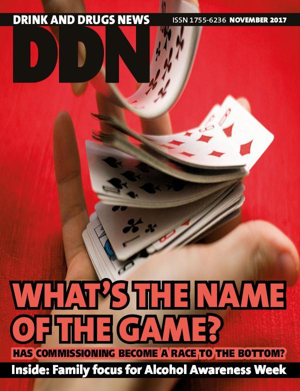 Drink and Drugs News DDN Nov2017