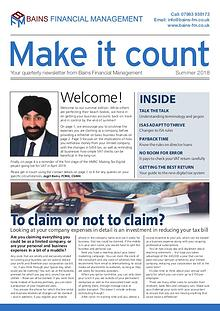 Make It Count - Bains