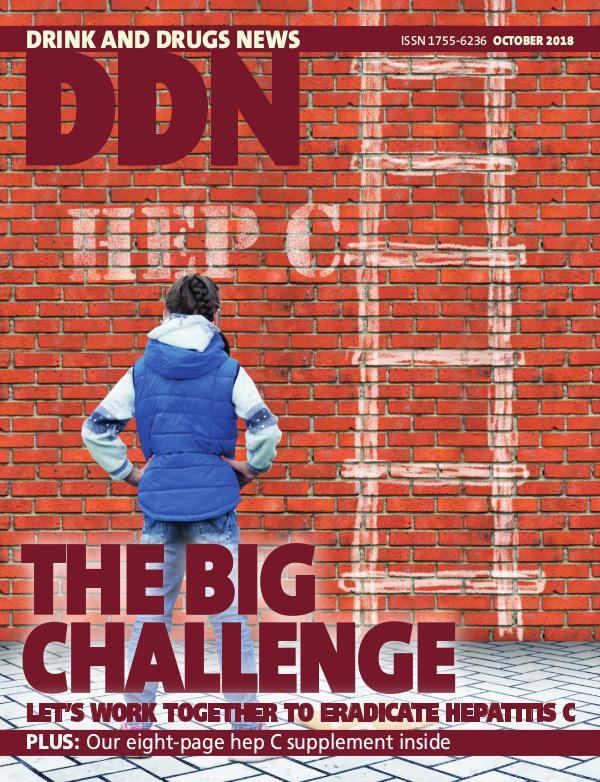 Drink and Drugs News DDN October 2018