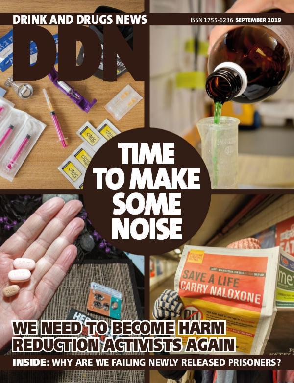 Drink and Drugs News DDN September 2019