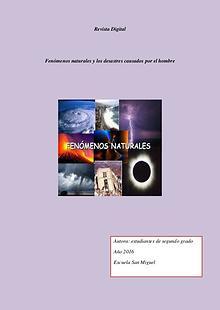Revista Digital Fenomeno natural