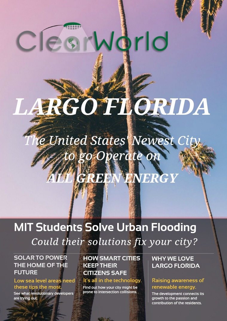 August Publication: Largo, Florida Goes Green