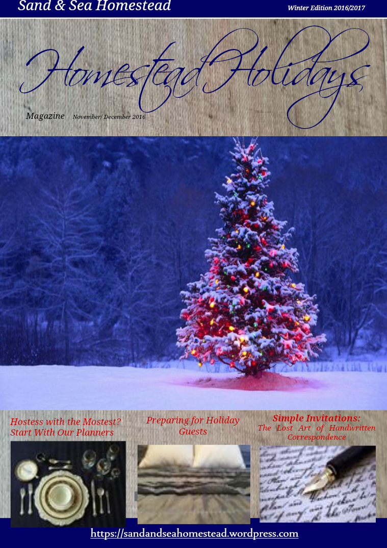 Homestead Holidays Magazine Homestead Holidays Winter 2016/2017