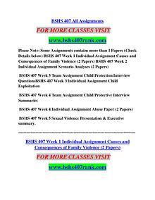BSHS 407 RANK Career Path Begins/bshs407rank.com