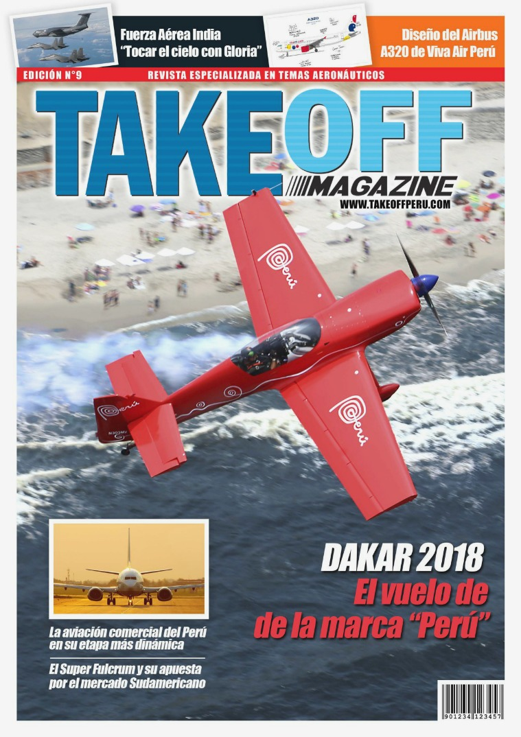 Take Off Magazine Edición N°9