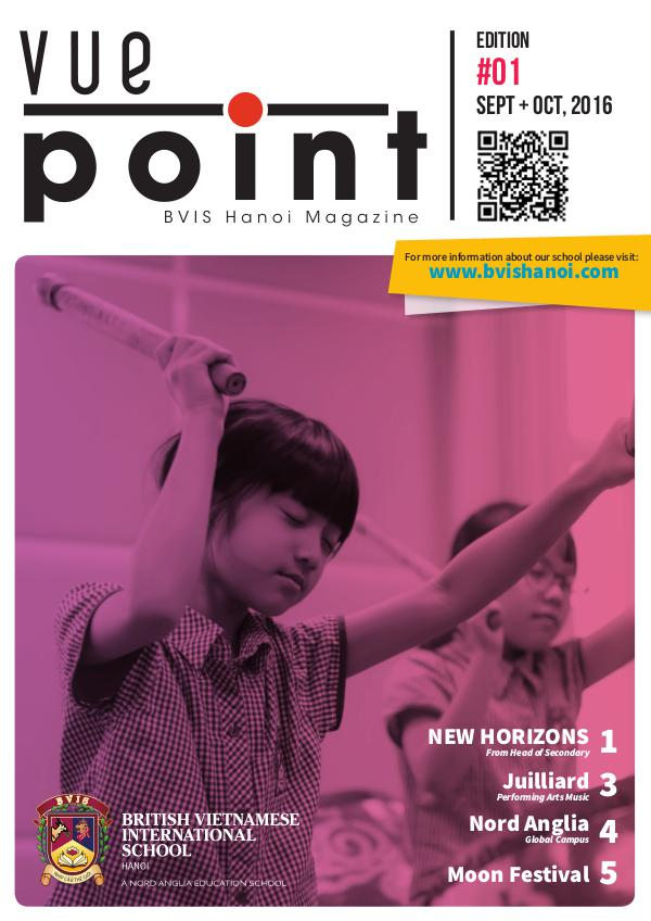 "Vue Point - Issue 1 (Oct 2016)"" Issue 1 (Oct 2016)"
