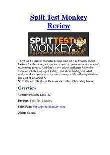 Split Test Monkey Review - &70000 Bonuses For You