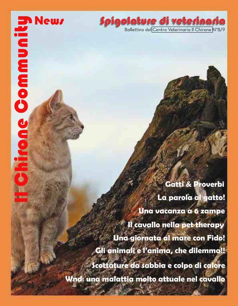 Il Chirone Community News Bollettino 8&9: NUMERO DOPPIO