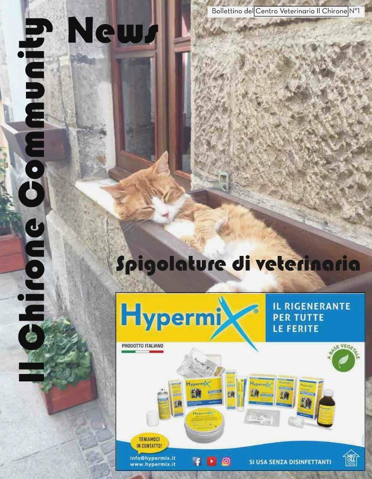 Il Chirone Community News 1° bollettino