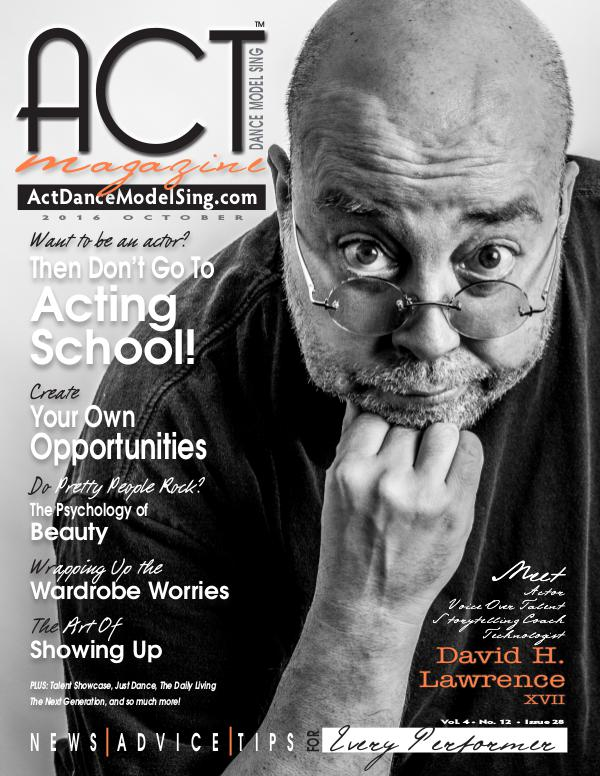 ACT Dance Model Sing Magazine Issue 28