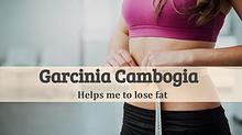 Garcinia cambogia helps to lose fat