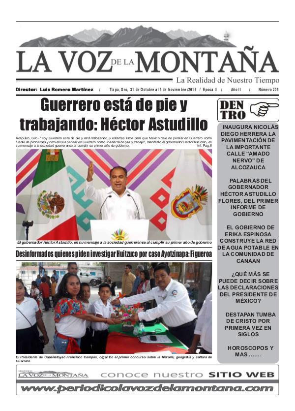 Periódico - La Voz de la Montaña Edición 205