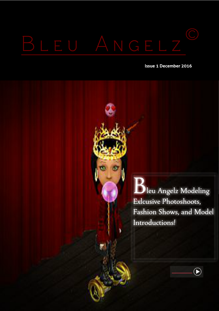 Bleu Angelz Fashion Magazine 1