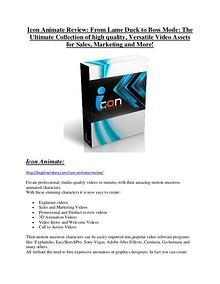 marketing Icon Animate review & Icon Animate $22,600 bonus-discount