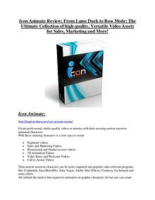 marketing Icon Animate review & Icon Animate $22,600 bonus-discount