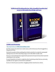marketing $100k Social Workshop review and giant bonus with +100 items