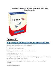 ConvertPix Review - ConvertPix +100 bonus items ConvertPix review in detail – ConvertPix Massive bonus