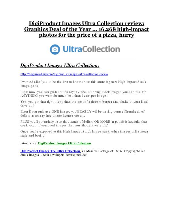 DigiProduct Images The Ultra Collection Review and DigiProduct Images The Ultra Collection (EXCLUSIVE) bonuses pack DigiProduct Images The Ultra Collection Review-TRUST about DigiProduct Images The Ultra Collection and 80% discount