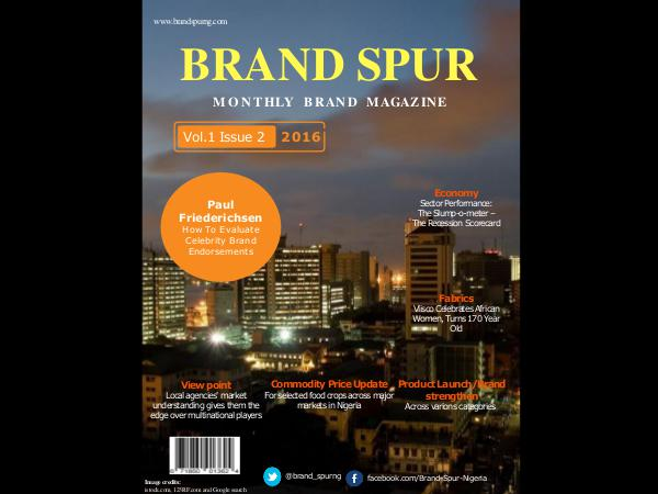 Brand Spur Volume 1, Issue 2 - Second Edition
