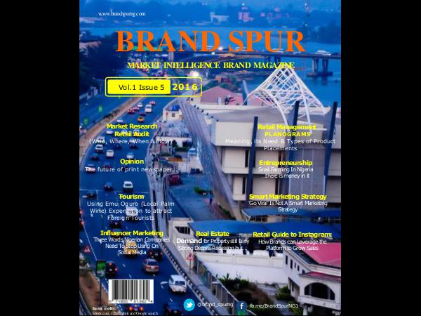 Brand Spur Issue 5
