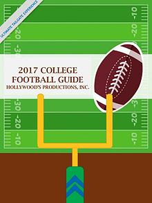 Hollywood's Productions 2017 College Football Guide