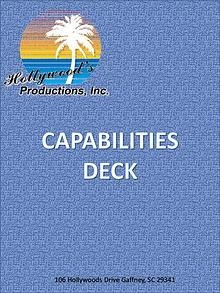 Hollywood's Productions 2017 Capabilities Deck