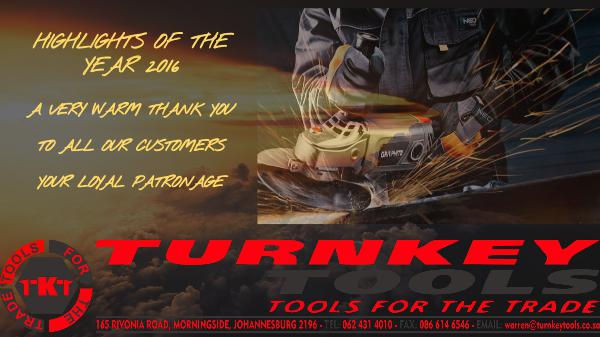 A YEAR TO REMEMBER TURNKEY TOOLS (PTY)Ltd