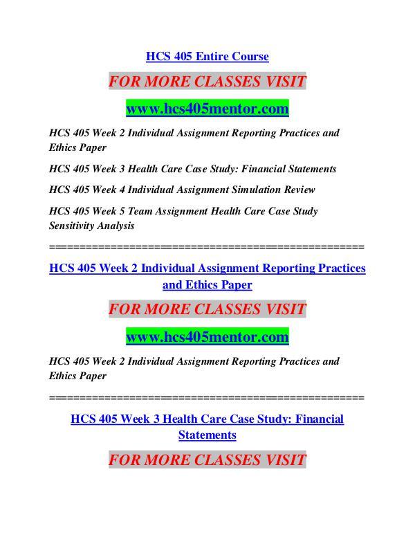 HCS 405 MENTOR Education Terms/hcs405mentor.com HCS 405 MENTOR Education Terms/hcs405mentor.com