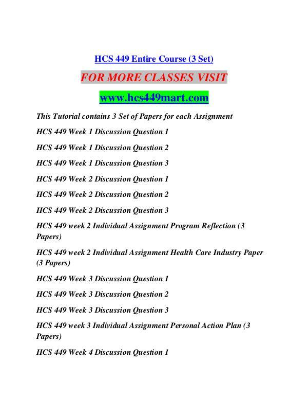 HCS 449 MART Education Terms/hcs449mart.com HCS 449 MART Education Terms/hcs449mart.com