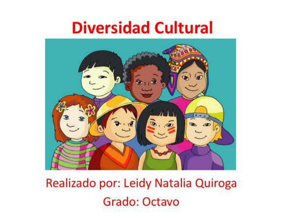 Diversidad Cultural Realizado por: Leidy Natalia Quiroga