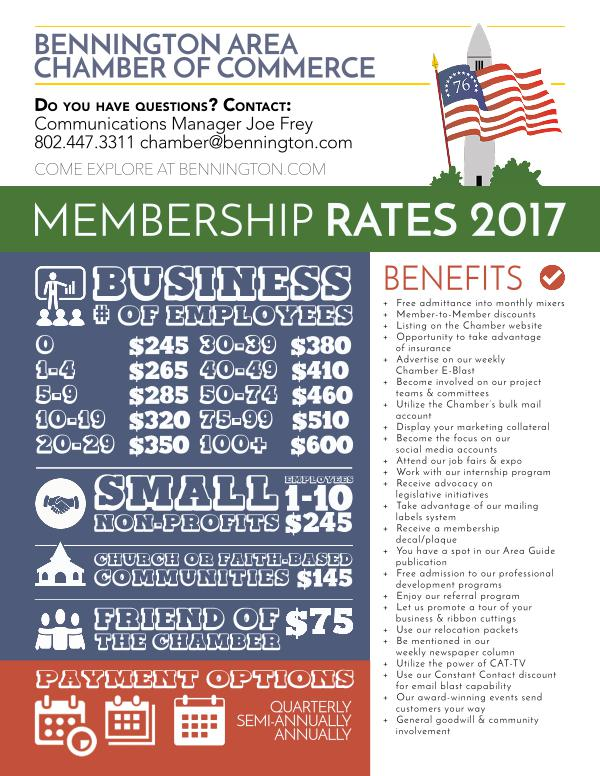 Membership Application & Rate Packet 1