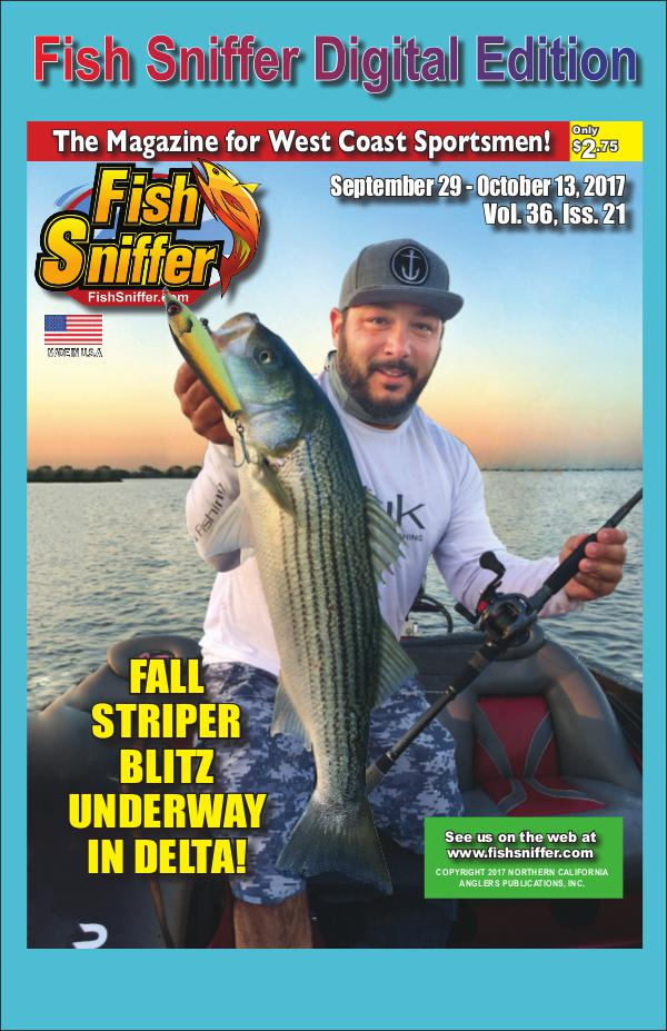 Fish Sniffer On Demand Digital Edition Issue 3621 Sept 29- Oct 13 2017