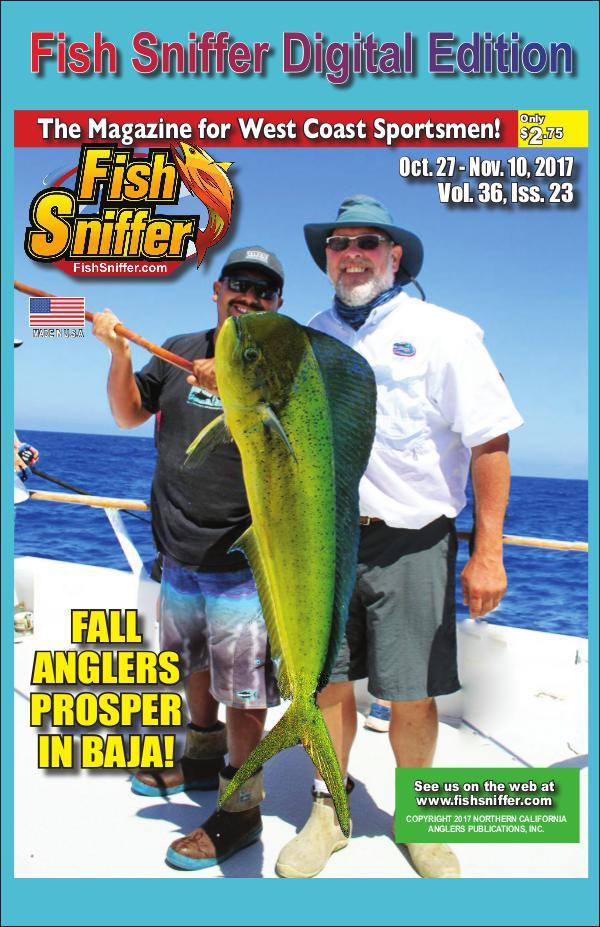 Fish Sniffer On Demand Digital Edition Issue 3623 Oct. 17- Nov. 10 2017