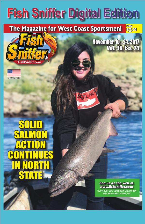 Fish sniffer digital edition issue 3624 nov 10 24 2017 for The fish sniffer