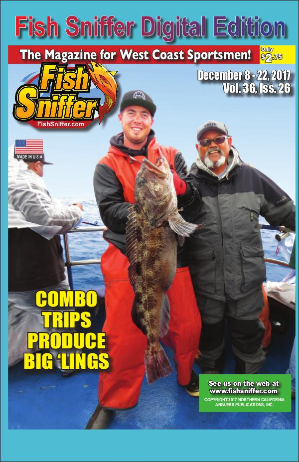 Fish sniffer digital edition issue 3626 dec 8 22 2017 for The fish sniffer