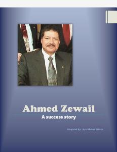 ahmed zewail (June, 2013)